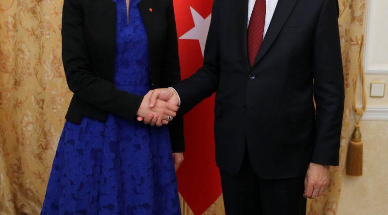 Oktay, Romanya Başbakan Yardımcısı ile görüştü