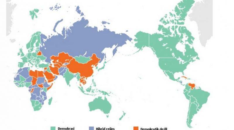 Demokrasisi geriye doğru giden 10 ülke