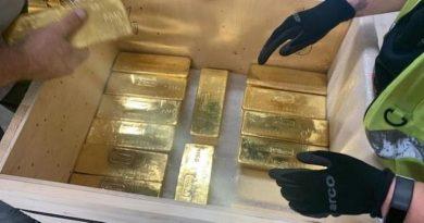Gizli altın transferi