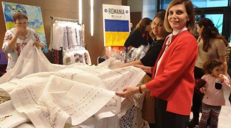 Uluslararası Kadınlar Birliği kermesinde Türkiye tanıtımı