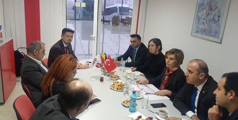 Büyükelçi'den işyeri ziyaretleri