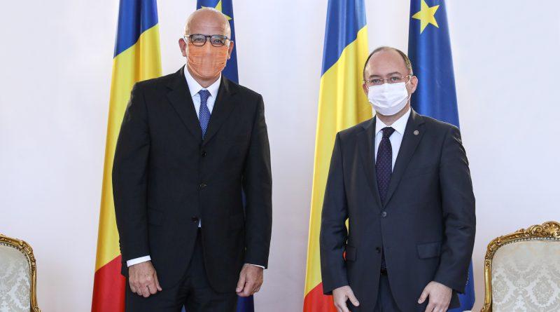 Bakan Aurescu, Almanya ve İngiltere Büyükelçileri ile görüştü