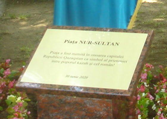 Bükreş'te 'Nur Sultan Meydanı'