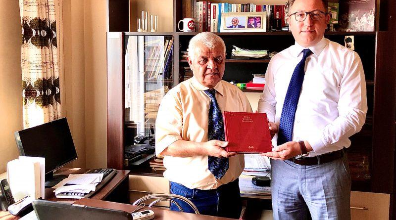 Bükreş YEE Müdürü Vekili Yıldız gazetemizi ziyaret etti
