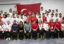 Atletizm Şampiyonası'nda Romanya birinci Türkiye ikinci