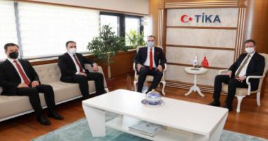 Makedonya Türk heyetinden TİKA ve YTB ziyareti