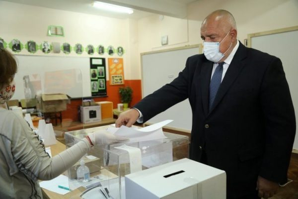 Bulgaristan'da seçimin galibi Borisov'un partisi