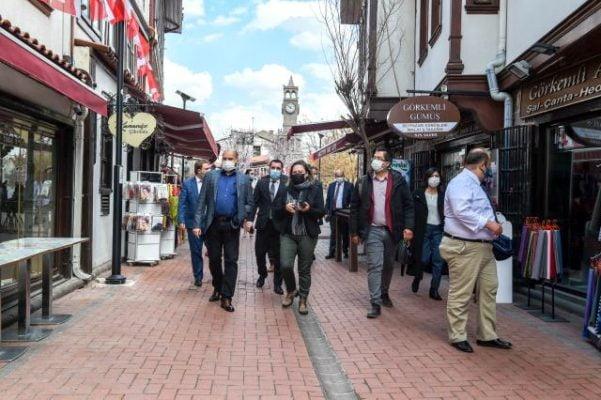 Yabancı savcılar Hamamönü'nde
