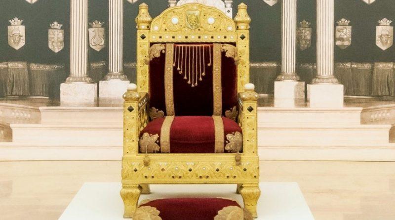 70 yıl sonra 'Kral Tahtı' sergisi