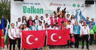 Balkan Dağ Koşusu'nda üç şampiyonluk
