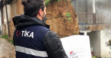 TİKA'nın Erenler Sofrası Kuzey Makedonya'da