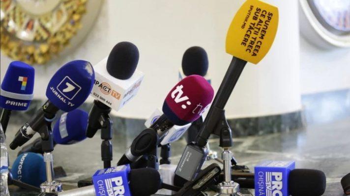 Romanya'dan Moldova basınına destek