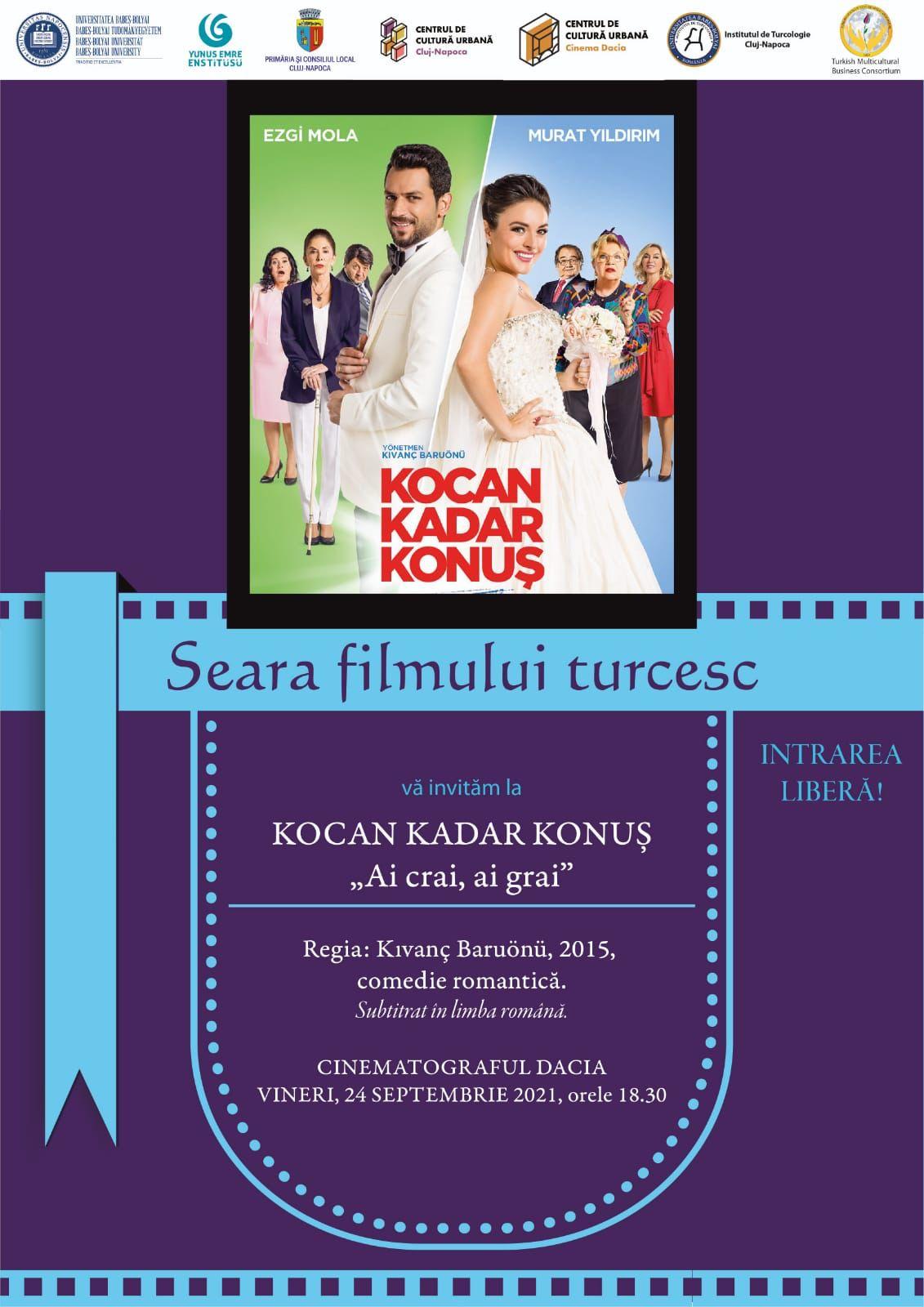 Cluj- Napoca'da Türk filmi