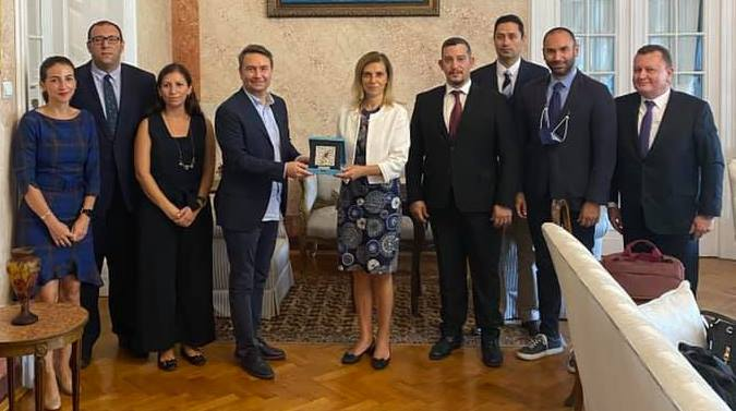 İhracatçılardan Büyükelçi Aramaz'a ziyaret