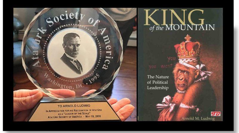 18 yılda yazılan kitap: KING of the MOUNTAIN
