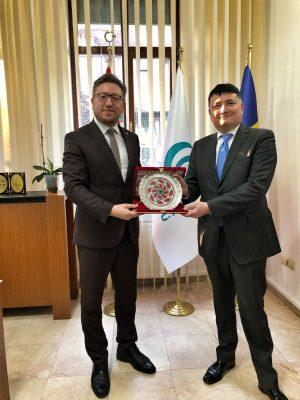 Büyükelçi Najafov'dan BYEE'ne ziyaret