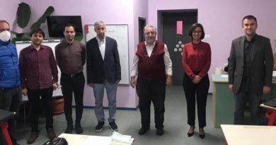 Kemal Atatürk Koleji öğretmenlerine Hoş geldiniz ziyareti